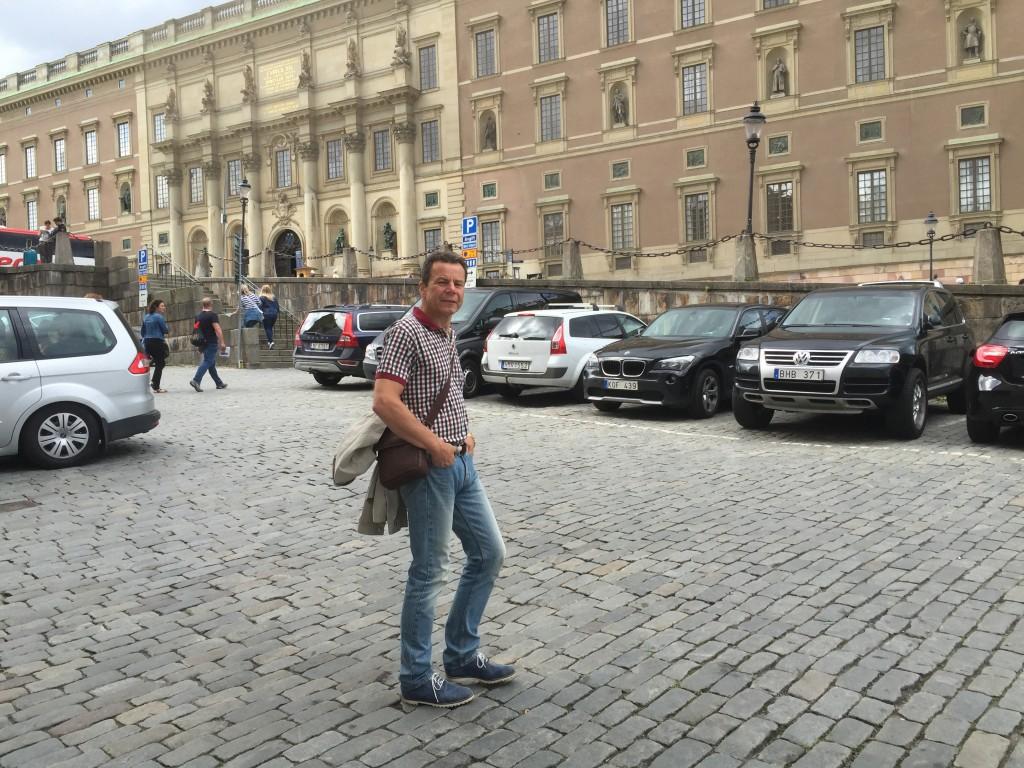 Sven på Slottsbacken
