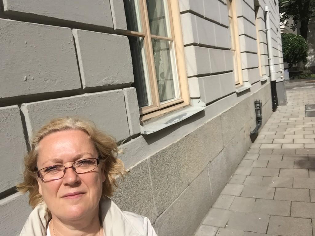 Wallinsgatan var en tom gata mitt i Stockholm!
