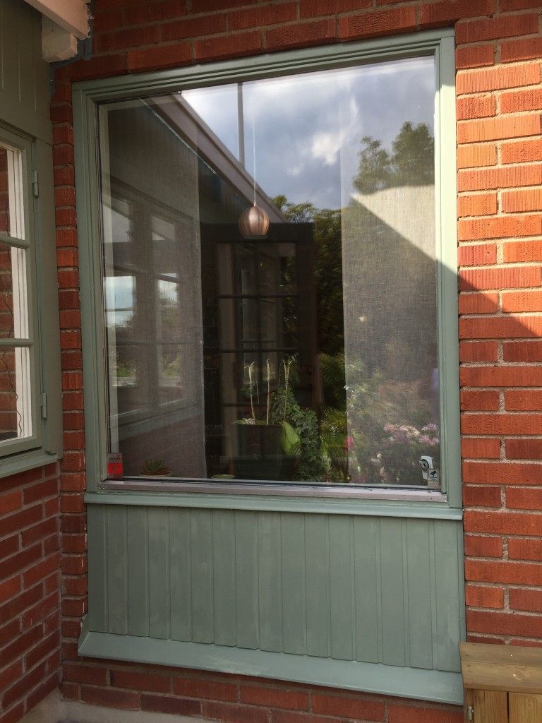Och se så fint fönstret blev!