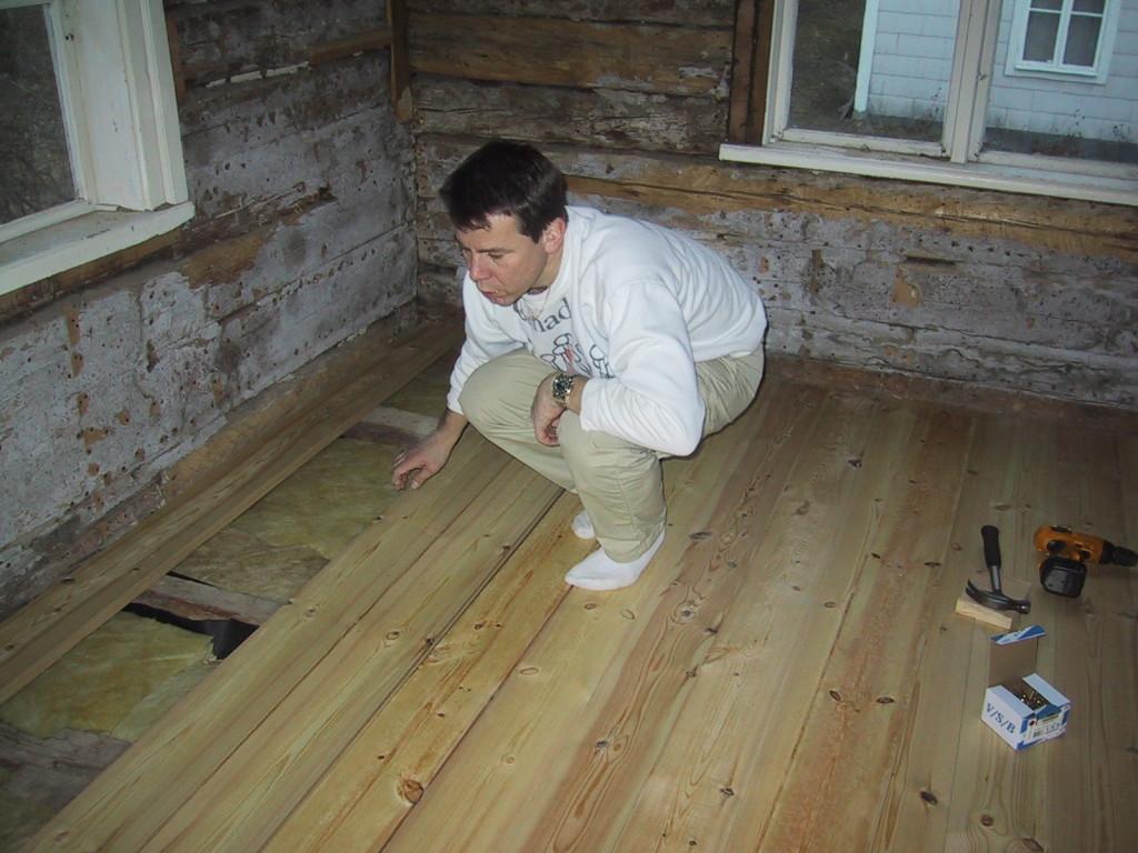 Och på med nytt golv