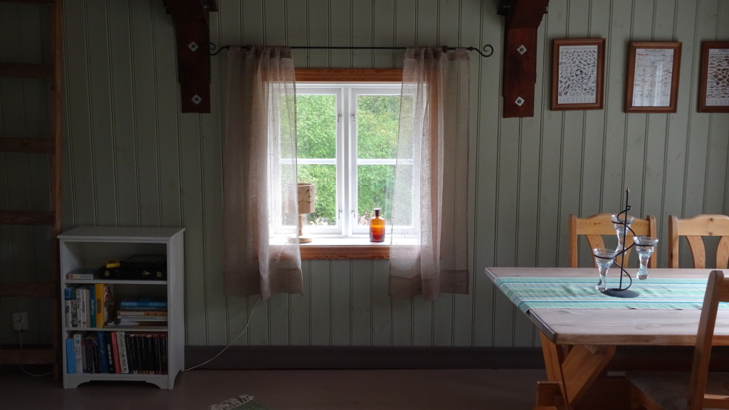 Och sista fönstret i stora rummet