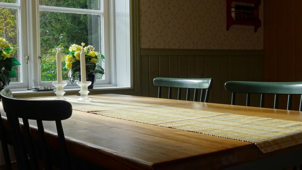 Vårt fina matbord